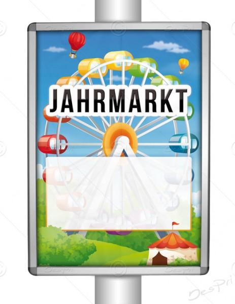 Jahrmarkt - Werbeplakat mit Textfeld, Poster, DIN A1, P0040