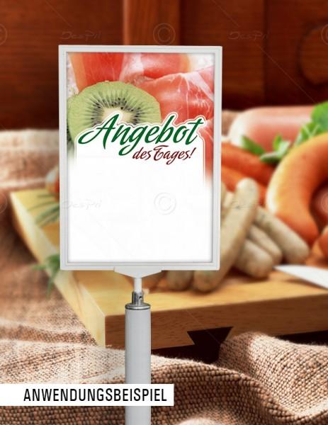 Preisschilder mit Textfeld - Angebot des Tages! Metzgerei, F0020, 25er Set