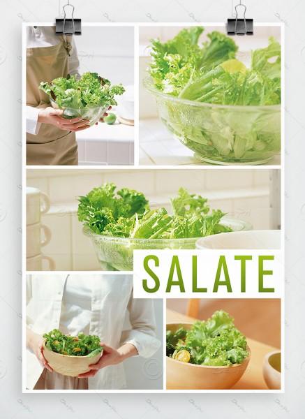 Salate - Plakat, Werbeplakat, Poster, DIN A1, P0008