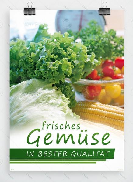Frisches Gemüse in bester Qualitaet, Werbeplakat by Despri, DIN A1, P0099